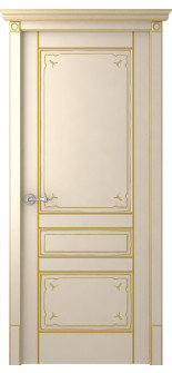 Everly Ivory Gold Patina