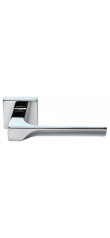 FIORD-SQ CRO DOOR HANDLE CHROME MORELLI
