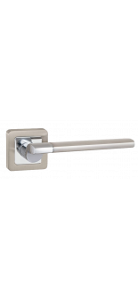 GALAXY XM/HD SN/CP-3 SATIN NICKEL/CHROME DOOR HANDLE FUARO
