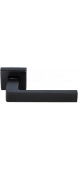 HORIZONT- SQ NERO BLACK DOOR HANDLE MORELLI