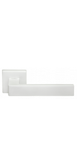 HORIZONT- SQ BIA WHITE DOOR HANDLE MORELLI