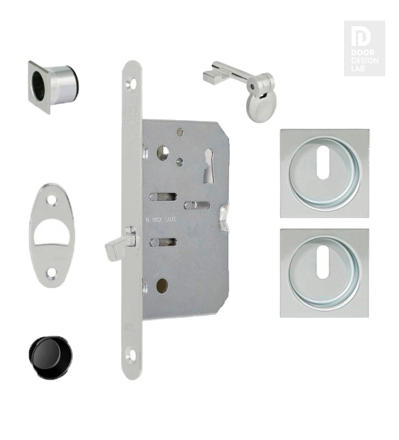 AGB B039625034 KIT M SET KEYED FOR SLIDING DOOR SLAB