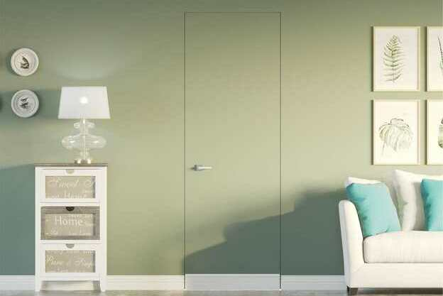 frameless door jamb